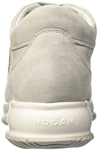 Hogan Hxw000n0x290cr0b204, Sneaker a Collo Basso Donna Grigio (Nebbia)