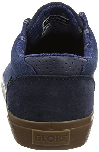 Globe Herren Willow Sneaker, Braun, One Size Blue (Dark Blue/Blue)