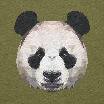 Texlab–Poligono Panda–sacchetto di stoffa Oliva