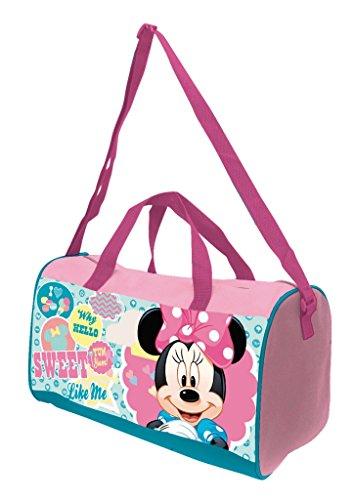 Arditex-Bolsa Deportiva-Diseño Minnie Mouse-Medidas 38x 20x 23cm