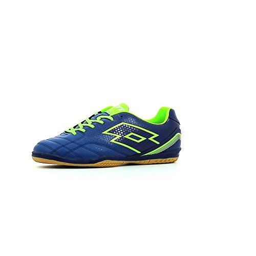 Lotto Spider 700 Xiii Id Jr, Chaussures de football en salle mixte enfant Bleu (bleu marine (blue marine) / bleu porcelaine)