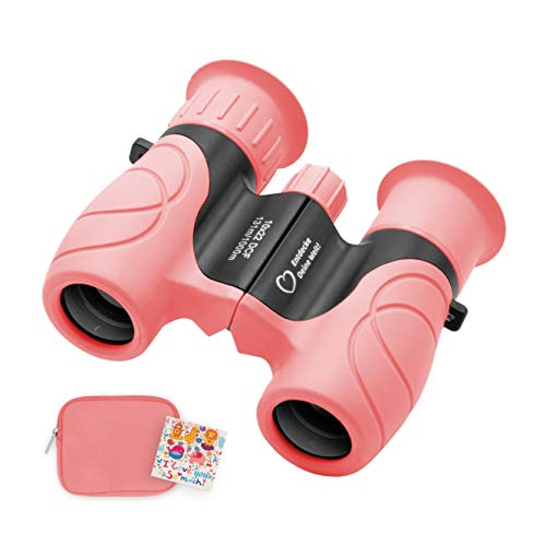 Honey's Heaven Kids | Kinder-Fernglas 8X21 | Klein leicht & kompakt - der perfekte Begleiter für alle Entdecker & Abenteurer (pink)