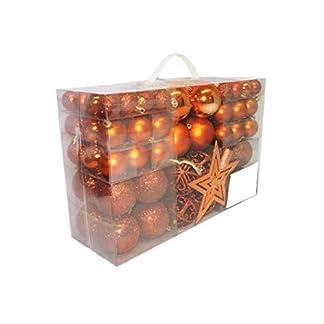 Geschenkestadl-100-Weihnachtskugeln-und-Baumspitze-Stern