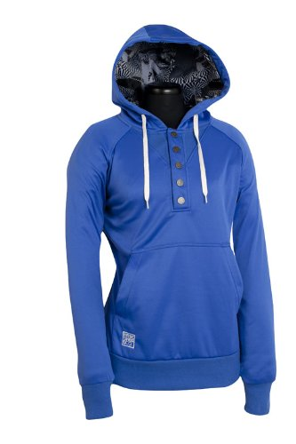 Nitro Damen Kapuzensweatshirt PULLY HD, true blue, XS