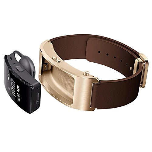 Huawei TalkBand B3 5 Modes Bluetooth 4. 2 Headset Business Smart Bracelet for Android / iOS, Support Fitness Tracker / Pedometer / Reminder Call / Anti-lost/ Sleep Monitor(Brown)
