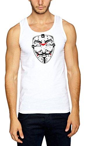 Certified Freak Anonymous Friday Muscleshirt White XXL