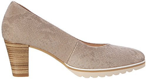 Gabor Shoes Comfort, Scarpe con Tacco Donna Beige (leinen S.rose/A.n 12)