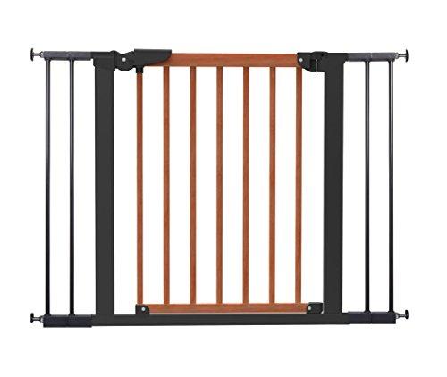 Avantgarde BabyDan-Barriera cancelletto a fissaggio con pressione, per Porte o scale ciliegio 71, 3-104,1 cm/Nero