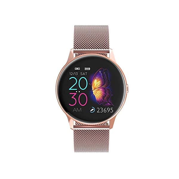 naack smartwatch, Reloj Inteligente Impermeable IP68 Pulsera de Actividad Pulsómetro Monitor de sueño Deportivo… 2