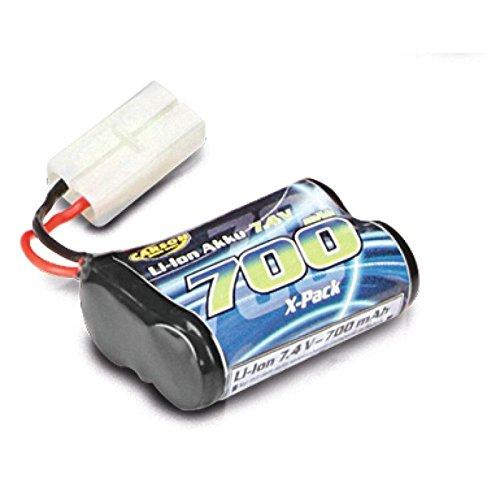 Carson 500608172-Batería de Repuesto 7.4V Li-Ion Batería 700mAh