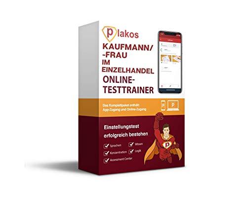 Kaufmann/-frau im Einzelhandel Einstellungstest: Interaktive und authentische Aufgaben aus den Bereichen Sprache, Konzentration, Allgemeinwissen und Logik | Spezifische Tests zu Kauf & Handel