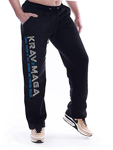Dirty Ray Kampfsport MMA Krav Maga Jogginghose Freizeithose SDKM1 (M)