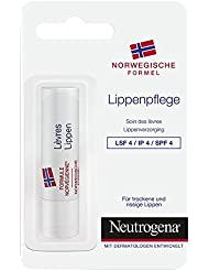 Neutrogena Norwegische Formel Lippenpflege LSF4, 1er Pack (1 x 4,8g)