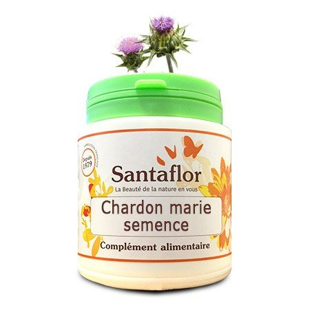 Chardon marie semence - gélules240 gélules gélatine végétale