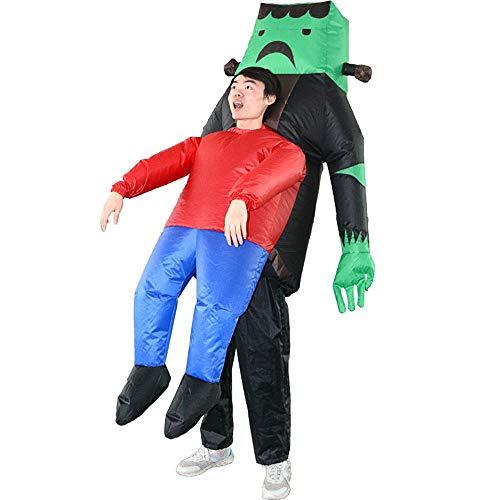 Kostüm Aufblasbare Puppe Männliche - Lydia's Anime Lustige Aufblasbare Alien ET Cosplay Kostüm Cartoon Puppe Kostüm Erwachsene Nachtclub Party Puppe Requisiten 150~195cm
