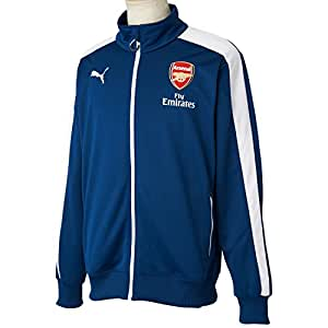 Puma AFC T7 Anthem Jacket, Men's XXX-Large (Estate Blue/White)