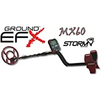Metal detector Ground EFX Storm MX 60 cercametalli Oro Monedas metaldetector