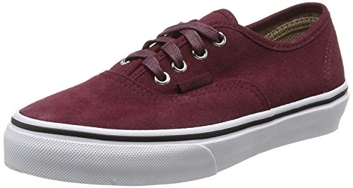 Vans Unisex-Kinder Authentic Low-Top, Rot (Suede Port Royale/Tweed Dots), 34 EU (Vans Für Teenager-mädchen)