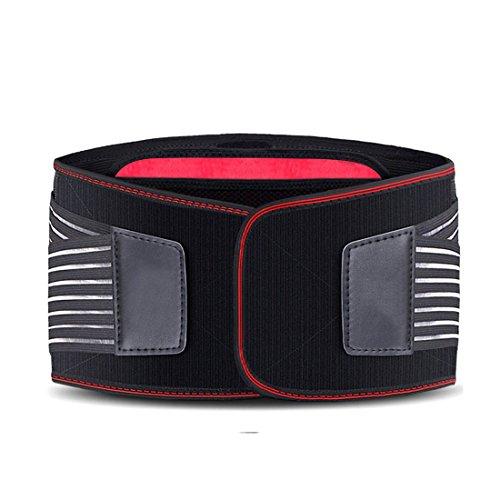 senru faja lumbar inferior de la espalda apoyo cinturón, tamaño ajustable, conector...