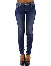 Jeans délavé super stretch et doux - taille normale