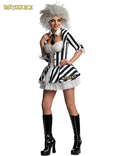 Kostüm Lady Beetlejuice - BeetlejuiceTM - Adult Ladies Costume Lady : X SMALL