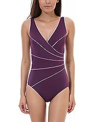 violet maillots de bain natation sports et loisirs. Black Bedroom Furniture Sets. Home Design Ideas