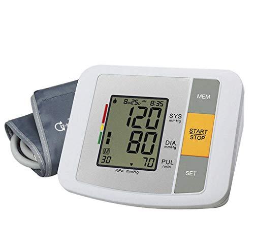 Vollautomatisches Oberarm-Blutdruckmessgerät - Intelligente Sprach-LCD-Justiervorrichtung für Herzschlag- und Hypertonie-Detektor