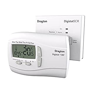 ACL 123042 Digistat +3RF & Receiver, White