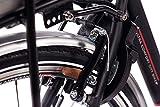 28″ Zoll Cityrad ALU Fahrrad E-BIKE Pedelec CHRISSON E-LADY mit 7G SHIMANO NEXUS & StVZO schwarz - 8