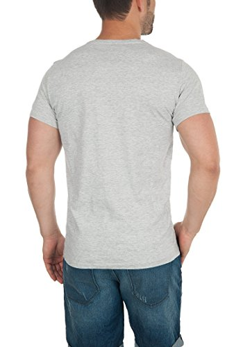 BLEND Tobi Herren T-Shirt Rundhals Kurzarmshirt Down Mix (70812)