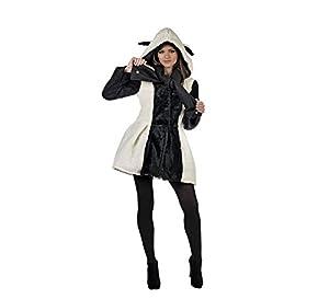Limit Sport - Disfraz abrigo y bufanda de ovejita para adultos, talla L (MA681)
