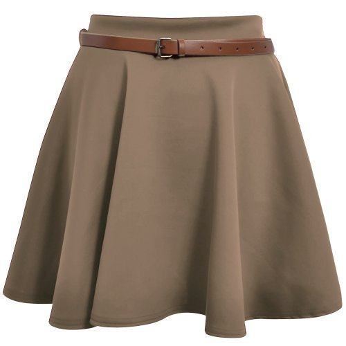 paramount-jupe-patineuse-evasee-avec-ceinture-matiere-stretch-uni-marron-taupe-brown-fr-42