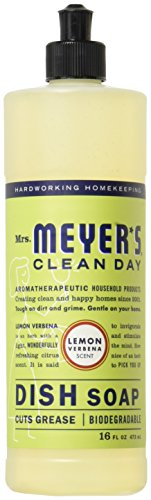 Mrs. Meyer's Clean Day Liquid Dish Soap (Pack of 2)