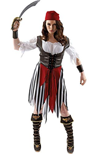 Pirate Woman Costume - Extra Large
