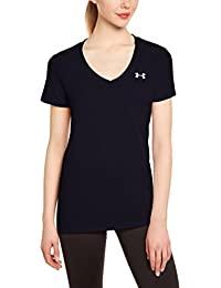 Under Armour Damen Fitness T-Shirt und Tank Tech Short Sleeve Solid