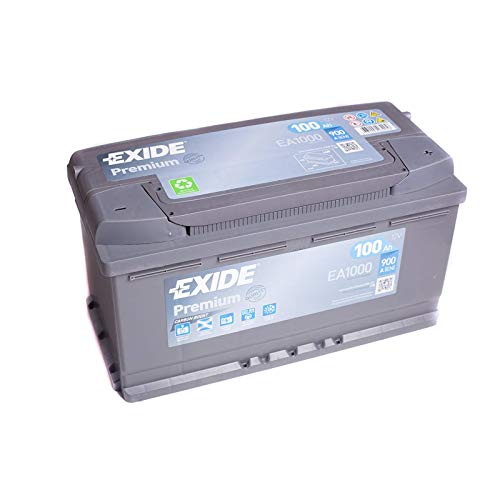 Exide Premium Carbon Boost Car Battery 100Ah 900 A/EN
