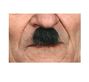 Bigote negro - Viving Costumes Bigote Viving Costumes-202800, Color Negro (202800
