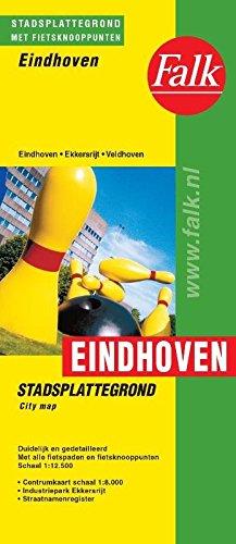 Eindhoven: stadsplattegrond met centrumkaart en volledig straatnamenregister por Falkplan Cib