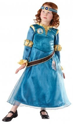 Rubie's Official 881743 Merida, Disney Princess (Child) Deluxe M by Rubies