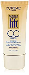 LOreal Paris Visible Lift Cc Cream, Medium/Deep, 1 Fluid Ounce (Pack of 2)