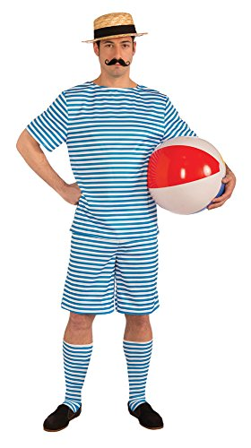 20er Jahre Männer Badeanzug Kostüm - Kostüm-Badeanzug Beachside Clyde im Stil der