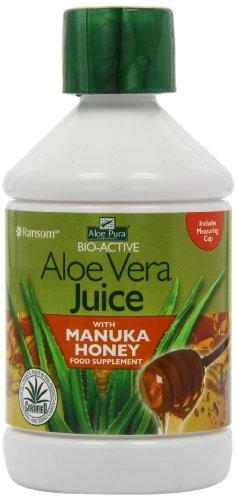 Pura Aloe Aloe Vera-Saft mit Manuka Honig UMF 10 + 500ml