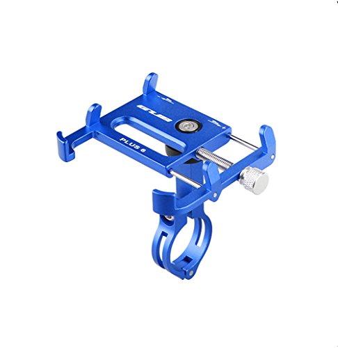 GUB Soporte para bicicleta Bike, bicicleta y manillar de motocicleta, soporte de metal, rotación de 360 grados, ajuste universal ajustable para iPhone 7/6S/6/5S/5C, Samsung S7/S6/S5/Note 5/4/3