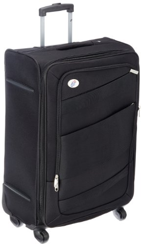 American Tourister Polyester 69 cms Black Softsided Suitcase (00W (0) 09 002)