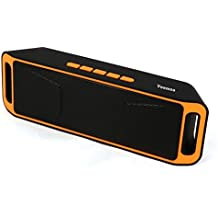 Veemoo Altoparlante Portatile di Bluetooth Stereo Altoparlanti con porta AUX