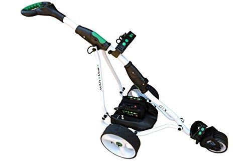 Carro Eléctrico de Golf Pro Kaddy Modelo D3B GTX con Batería Litio 12v 18amp