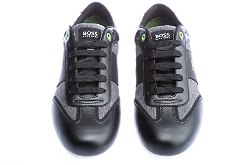 BOSS GREEN Lighter_lowp_nych 10195469 01, Scarpe da Ginnastica Basse Uomo Nero (Black 001)