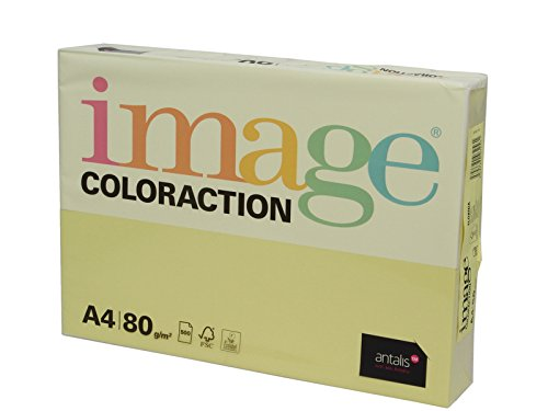 Galleria fotografica Immagine Coloraction A3 297 x 420 mm, 80 gm2 fsc4 Stampa Carta, colore: giallo limone