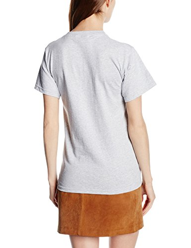 Fruit Of The Loom 61212 Mens Short Sleeve Heavy Cotton T-Shirt Tee Grau (Heather Grey)