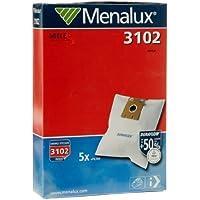 Menalux 3102 Sacchetti per aspirapolvere, 5 pezzi